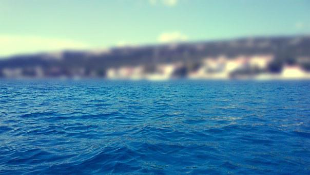 Croatia, Sea, Seaside, Blue, Deep, Water, Vacation