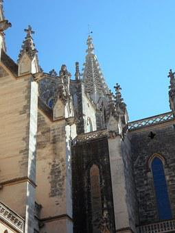 Church, Facade, Architecture, Building, Spain