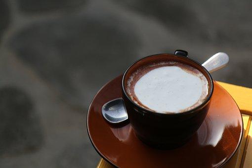 Coffee, Latte, Hancock, Latte Art, Cafe Latte, Cream
