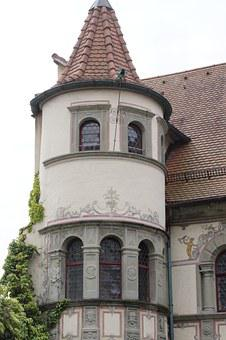 Registry Office, Constance, Turret, Tower, Historically