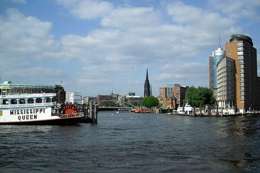 Hamburg, Port City, Elbe, Harbour Cruise
