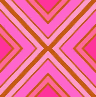 Pink, Geometric, Stripes, Angles, Shapes, Shades, Hues