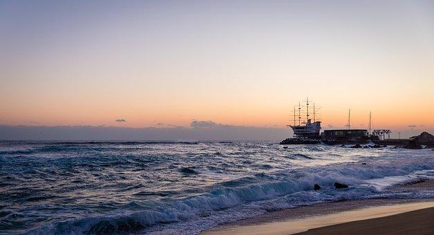 Jung Dong-jin, Sunrise, Japan Sea, Sea, Beach, 1 Travel