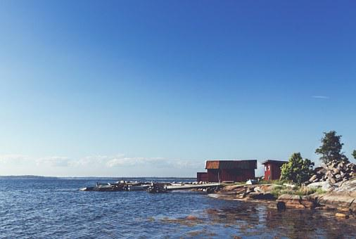 Lake, Water, Docks, Boats, Rocks, Sunshine, Sunny