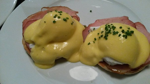 Eggs Benedictine, Eggs, London, Hoxton Grill, Food