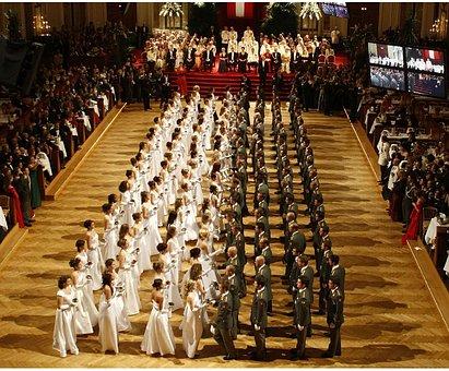 Vienna, Austria, Ball, Dance, Formal, Women, Men
