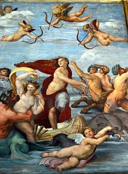 Raffaello Sanzio, Fresco, The Triumph Of Galatea
