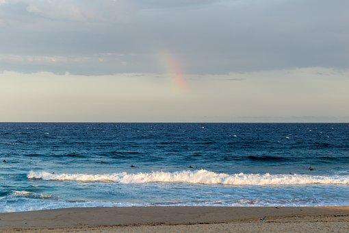 Beach, Beach Walk, Sunset, Maroubra, Sydney, Sea
