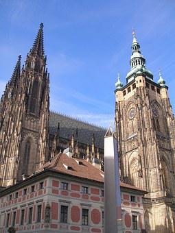 Temple St, Vitus Cathedral, Prague Castle, The Monolith