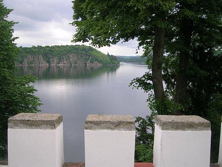 Castle, Orlik Cz, Tourist Attraction