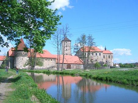 Water Castle Svihov Cz, Three Nuts For Cinderella