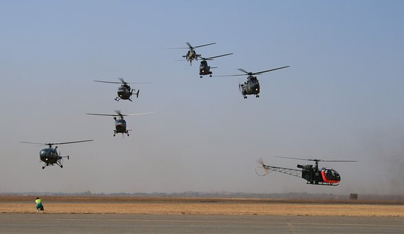 Helicopters, Aerial Display, Aviation, Flying Skill