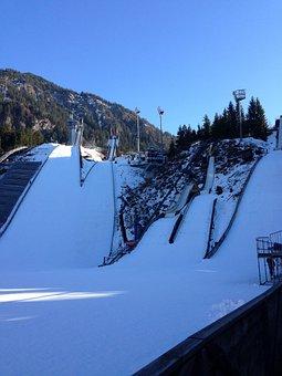 Ski Jump, Hill, Ski Sport, Bad Mitterndorf, Ski Jumping