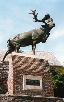 Monument, Deer, Monchy-le-brave, Newfoundland, Caribou