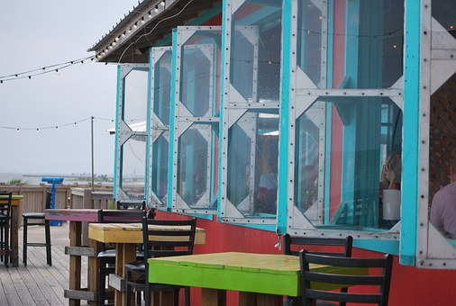 Restaurant, Outdoors, Windows, Dining, Lifestyle