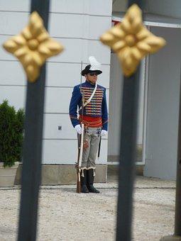 Palace, Castle, Guard, Imperial, Official, Bratislava