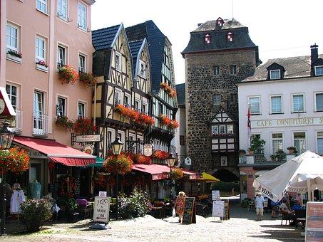 Linz, Truss, City Gate, Fachwerkhaus, Linz Am Rhein