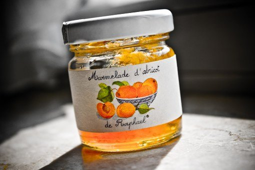 Apricot, Jar, Jam, Food, Breakfast, Orange, France