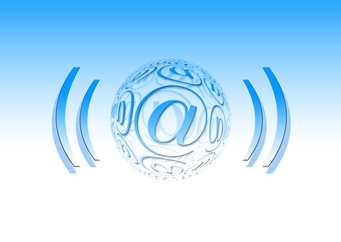 At, Mail, Email, Send, Radiate, Received On, Symbol