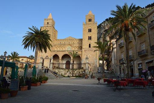 Cefalu, Sicily, Duomo