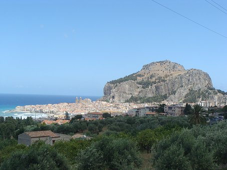 City, Landscape, Sicily, Cefalù, Italy, Memories Of