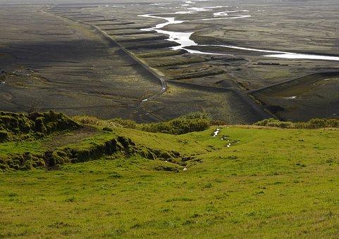 Landscape, Iceland, Nature, Skaftafell