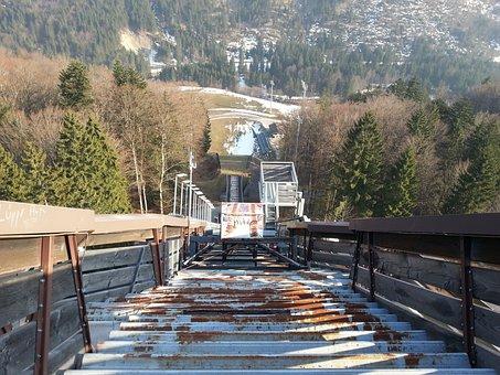 Ski Jump, Allgäu, Hill, Bad Mitterndorf, Mountains