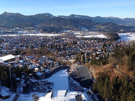 Ski Jump, Hill, Winter Sports, Ski Sport, Ski Jumping