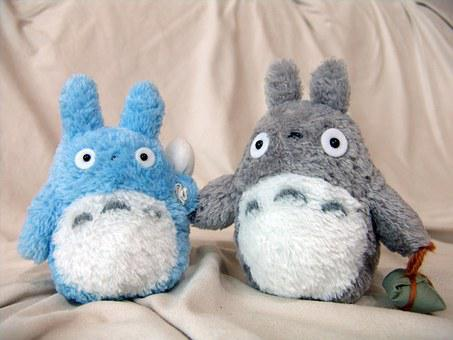 Totoro, My Neighbor Totoro, Doll, Cuteness, Toy