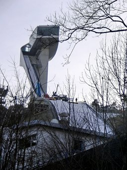 Ski Jump, Bergisel, Innsbruck, Winter, Ski Jumping