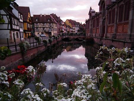Colmar, Alsace, France, Picturesque, Old Town