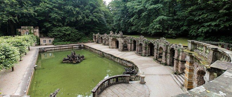 Architecture, Swim, Roman Bath, Anitke