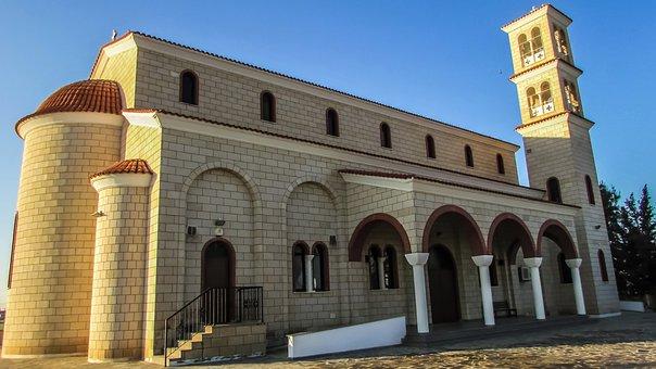 Cyprus, Avgorou, Church, Ayios Georgios Avion
