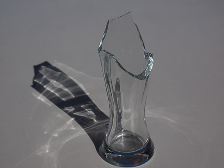 Glass, Broken, Pointed, Sharp, Cut, Glass Breakage