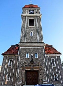 Saint Adalbert, Church, Tower, Bydgoszcz, Religious