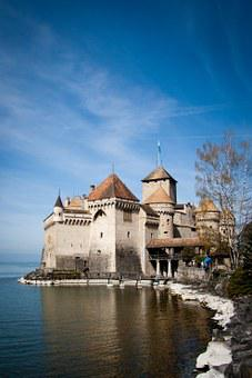 Chillon, Castle, Switzerland, Montreux