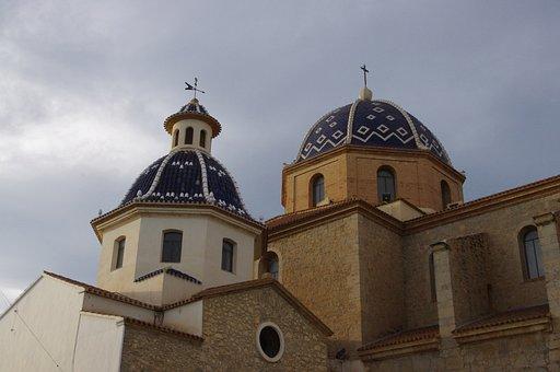 Altea, Church, Monument, Architecture, Alicante