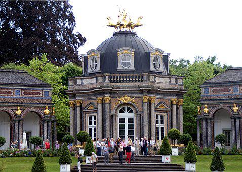 Hermitage, Visitors, Concluded Bayreuth, Württemberg