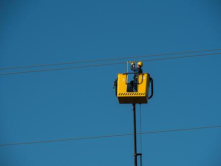 Electricians, Cables, Hv, Electricity, Danger, Risk