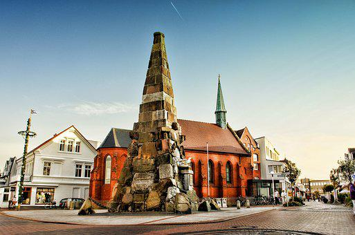 Norderney, Germany, Summer, Island, Landscape