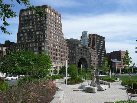 Harbor Headquarter, Boston, Massachusetts, Usa