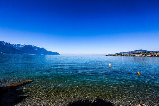 Swiss, Montreux, Lehmann Lake Views