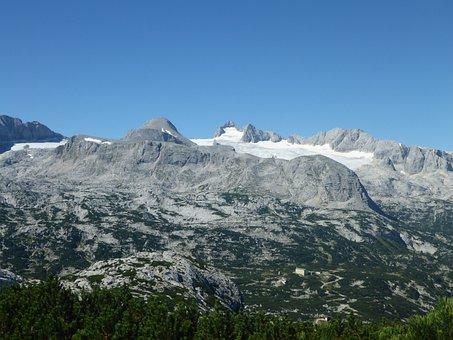Mountain Landscape, Austria, Dachstein, Nature
