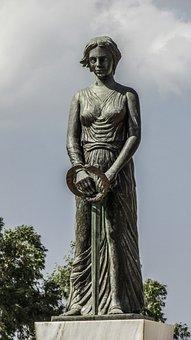 Cyprus, Avgorou, Memorial, Monument, Heroon, Sculpture