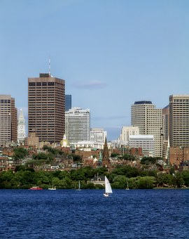 Boston, Massachusetts, City, Cities, Urban, Skyline
