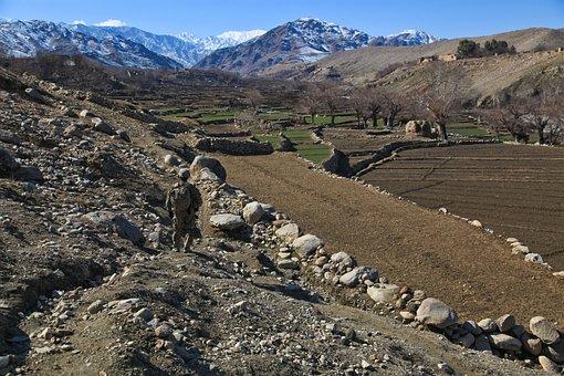 Afghanistan, Soldier, Military, Uniform, Armed