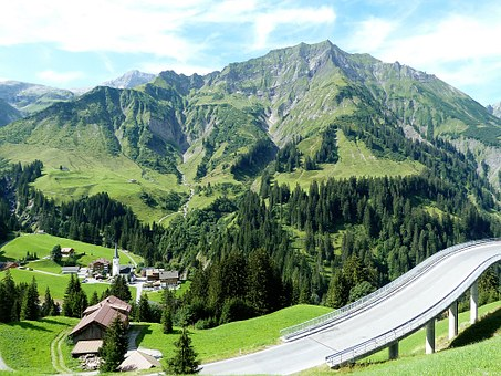 Beautiful, Holiday, Europe, Austria, Alpine, Alp
