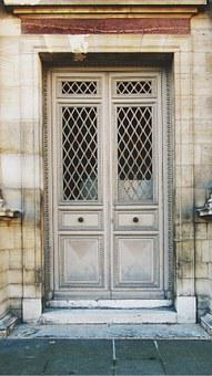 Door, Architecture, Facade, Paris, France, House
