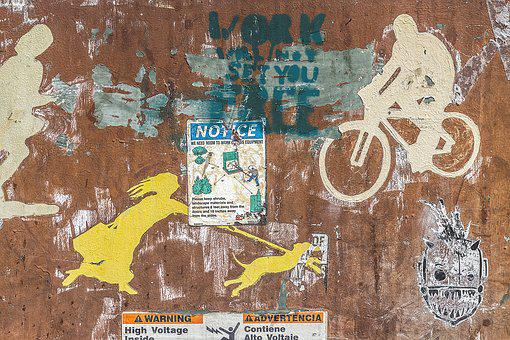 Background, Grunge, Street Art, Artistic, Painted