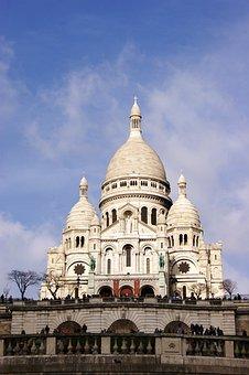 Sacred Heart, Basilica, Paris, Montmartre, Monument